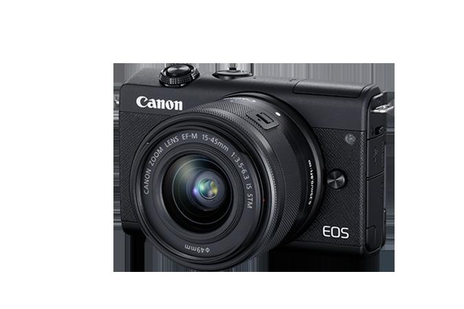 EOS M200 EF-M 15-45mm f/3.5-6.3 IS STM Kit Black
