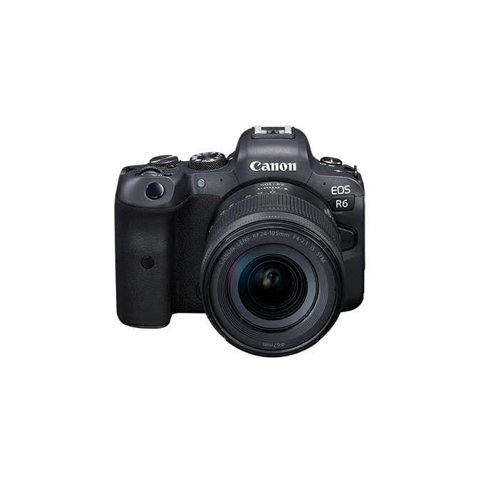 EOS R6 RF24-105mm f/4-7.1 IS STM Lens Kit