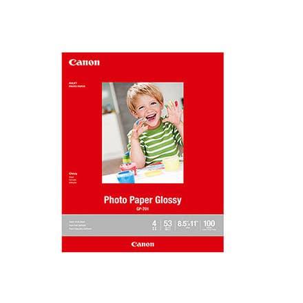 Canon GP-701 Photo Paper Glossy (8.5 x 11, 100 Sheets)