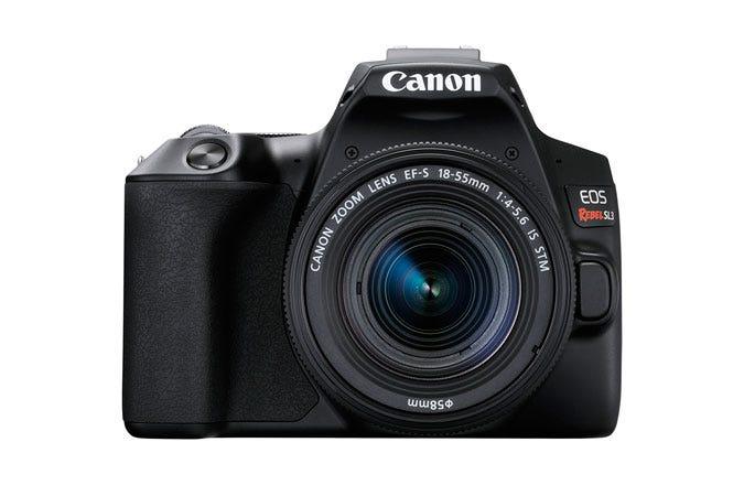 EOS Rebel SL3 EF-S 18-55mm f/4-5.6 IS STM Lens Kit Black